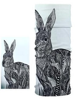 Unisex Rabbit Magic Tube Face Covering