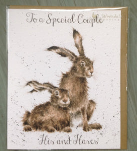 Wrendale Designs His & Hers Card