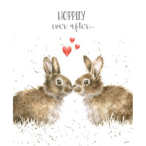 Wrendale Designs Hoppily Ever After Card