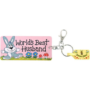 World's Best Husband Keyring