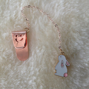 Lop Bunny Rabbit Bookmark