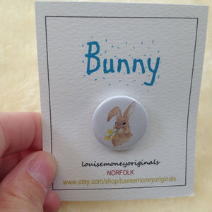 Bunny Rabbit Badge - 2 Designs