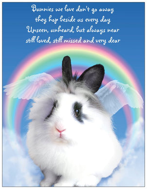 Bunny Memorial Fridge Magnet