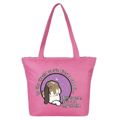 Milly Moo Bunny Large Shopping Bag - 2 Colours
