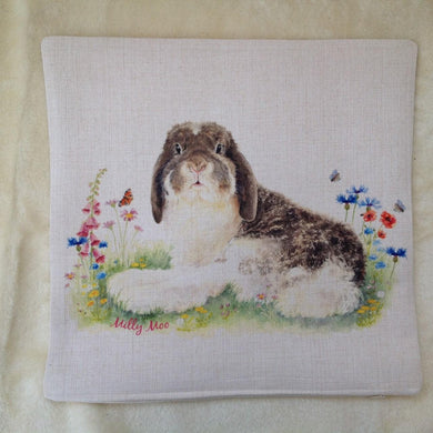 Milly Moo Bunny Rabbit Cushion Cover