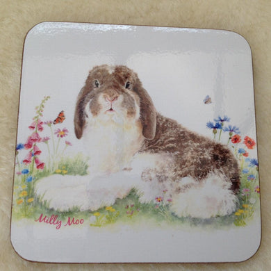 Milly Moo Bunny Rabbit Coaster