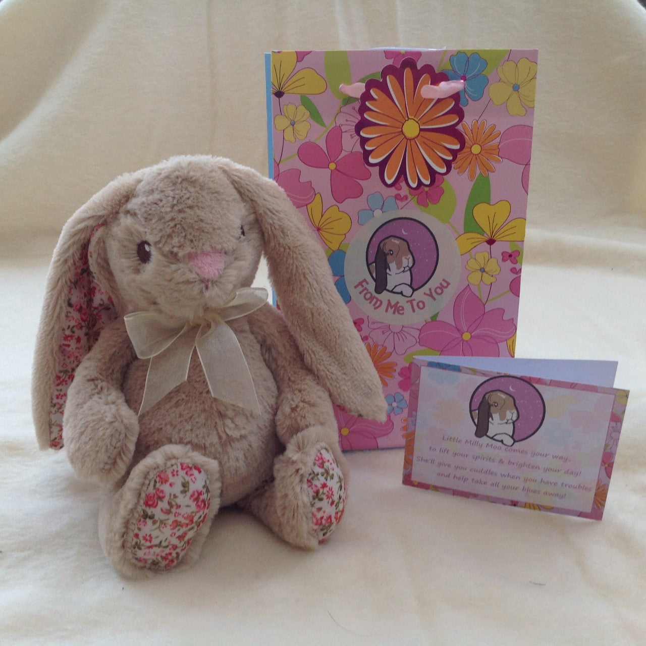 Milly Moo Cheer Up Bunny - Plush Bunny Gift