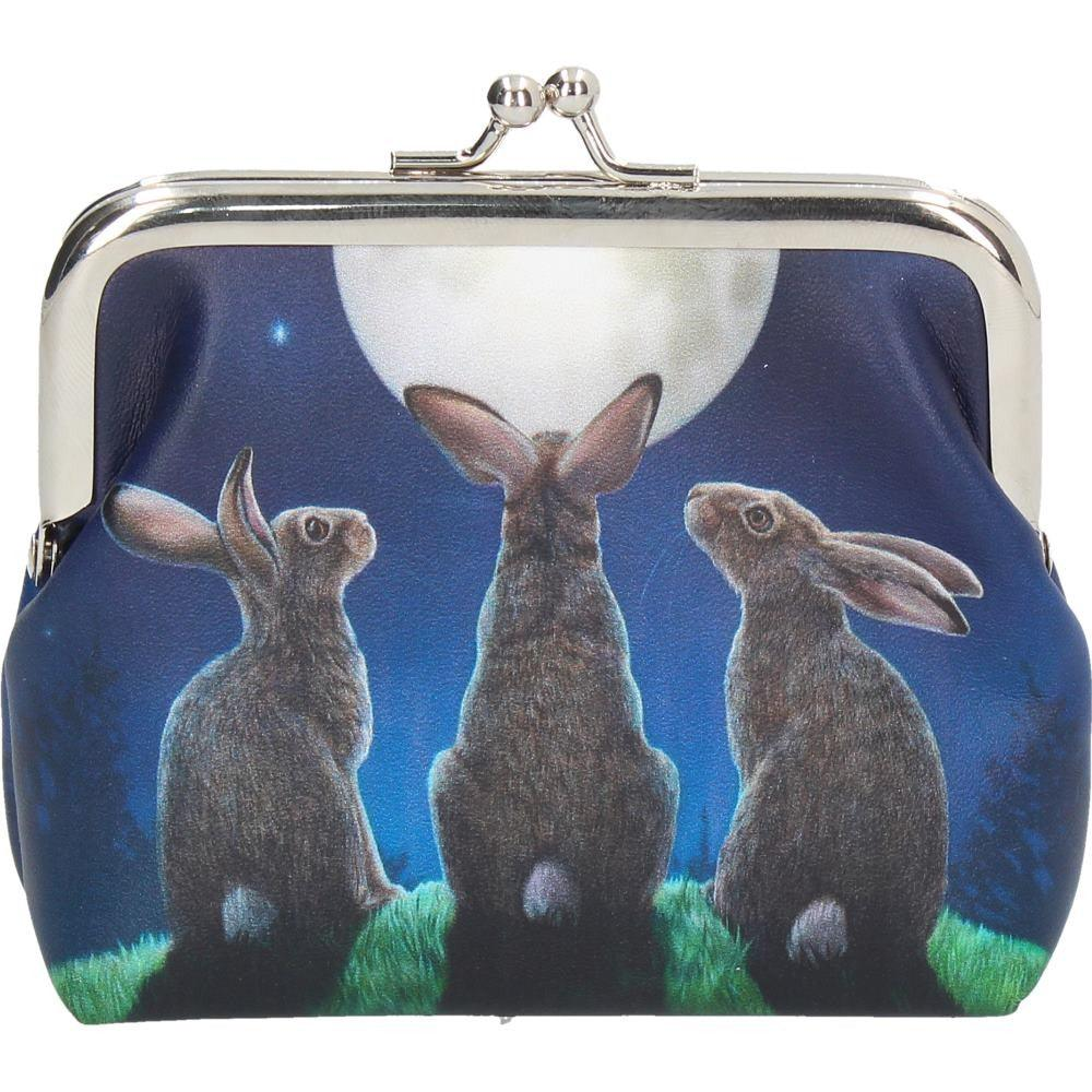 Moon Shadow Rabbits Coin Purse