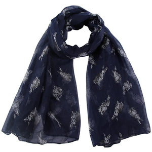 Bunny Scarf - Large Bunny Design- Selection Of Colours