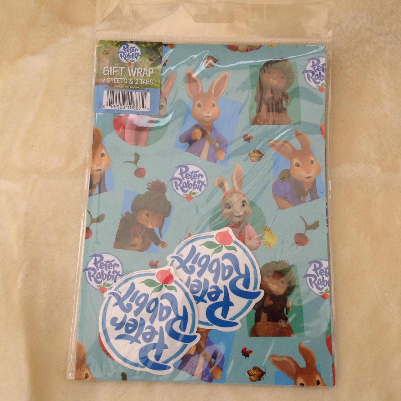 Peter Rabbit Gift Wrap