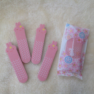 Bunny Rabbit Mini Nail Files