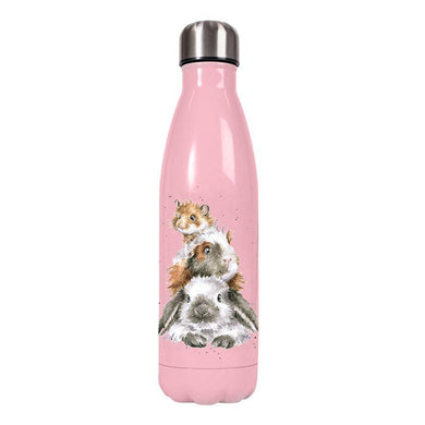 Wrendale Designs Pink Bunny Rabbit Water Bottle