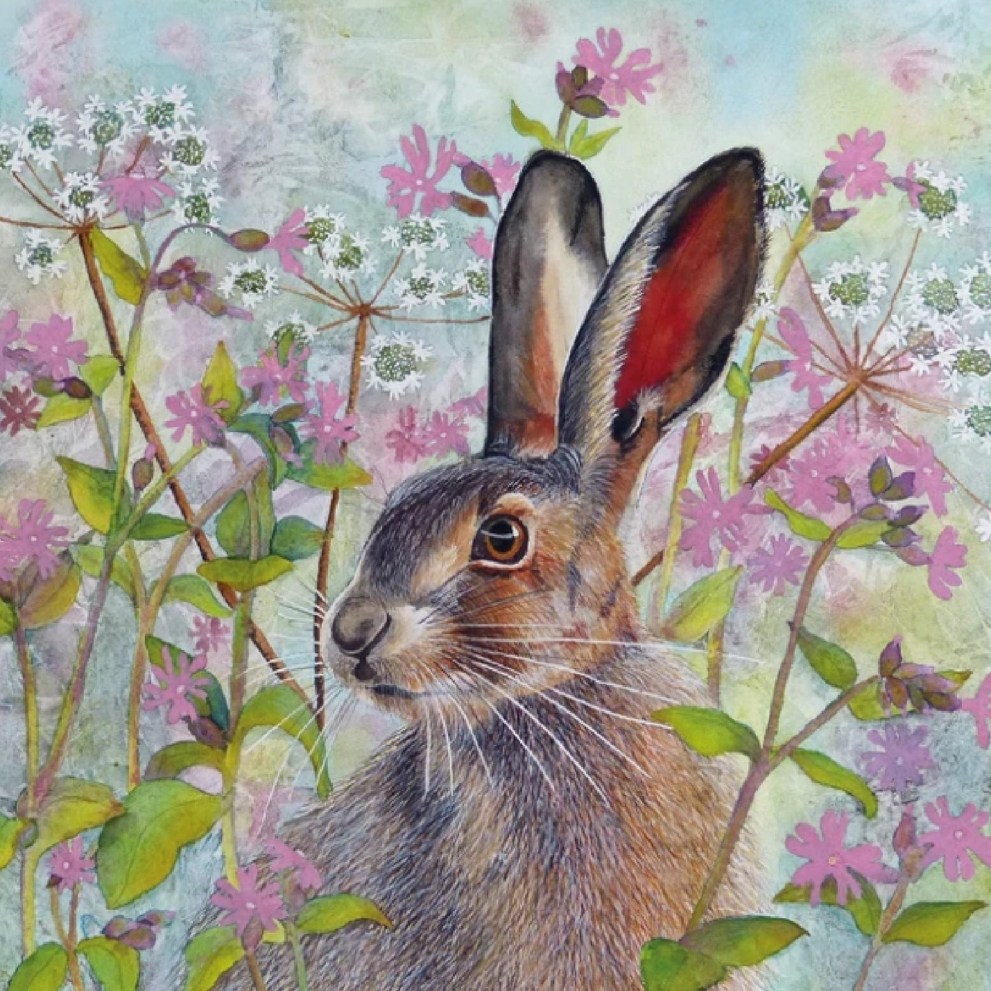 Beautiful Hare Card