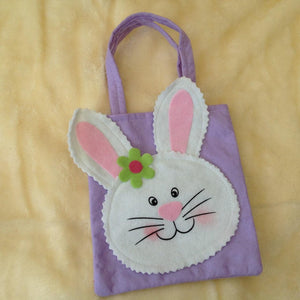 Spring Bunny Bag Filled with Surprise Bunny Goodies