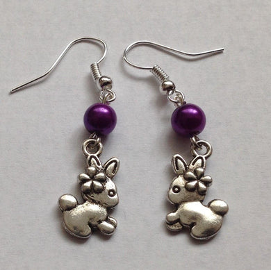 Handmade Bunny Earrings
