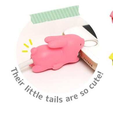 Rabbit Phone Cable Biter Accessory