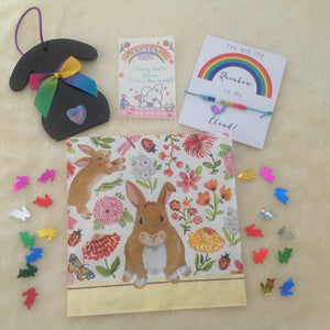 Exclusive Rainbow Rabbit Gift Set