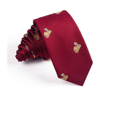 Men's Bunny Rabbit Tie - 2 Colours