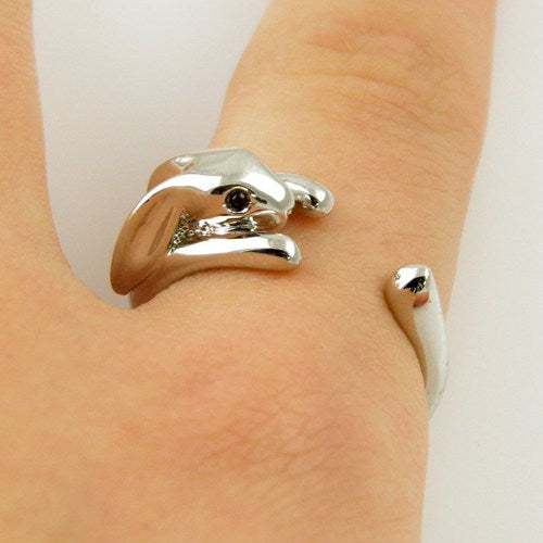Adjustable Bunny Ring