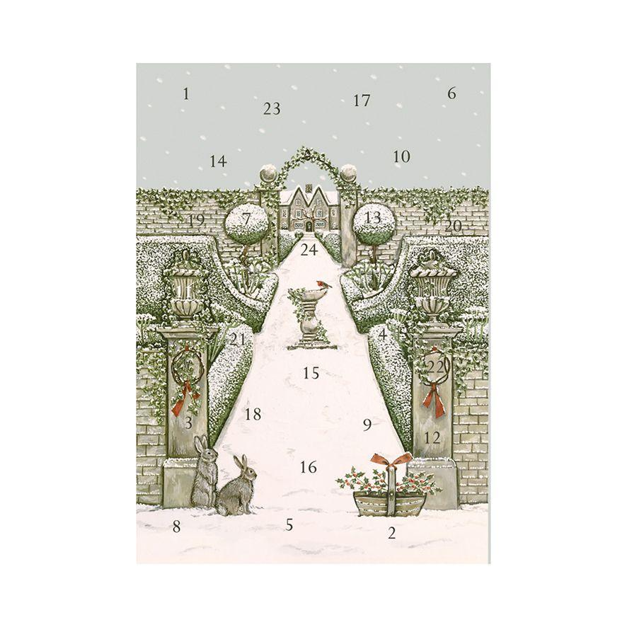 Sally Swanell Advent Calendar Christmas Card-