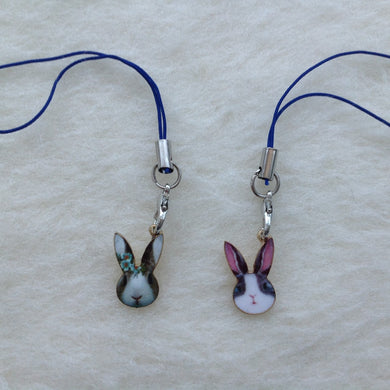 Dutch Bunny Face Charms