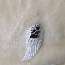 Memorial Angel Wing Hanging Decoration - 2 designs