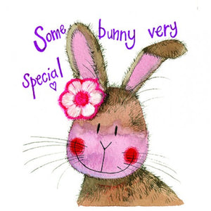 Alex Clark Somebunny Very Special Card