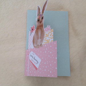 For Somebunny Special Bunny Rabbit Birthday Card
