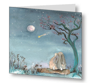 Stars & Dreams Greetings Card With Beautiful Poem