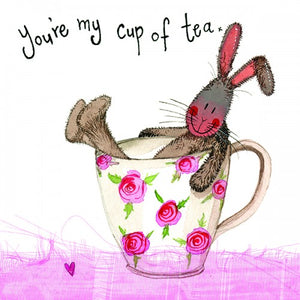 Alex Clark My Cup Of Tea Bunny Rabbit Card