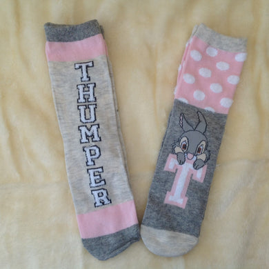 Ladies Thumper Bunny Socks - Set of 2