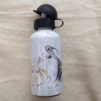 Field & Fur Bunny Rabbit Water Bottle - 2 Designs