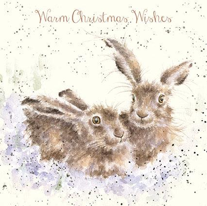 Wrendale Warm Wishes Christmas Card
