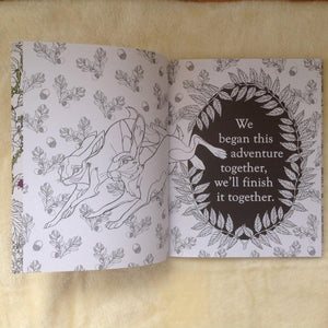 Watership Down Rabbit Colouring Book