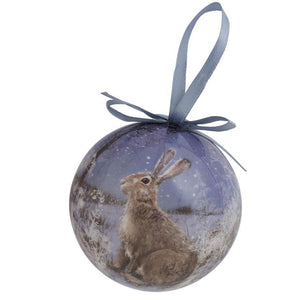 Hare Christmas Tree Bauble