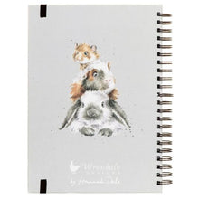 Wrendale Designs Large A4 Lop Eared Bunny Rabbit Lined Notebook