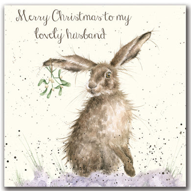 Wrendale Designs Husband Christmas Card