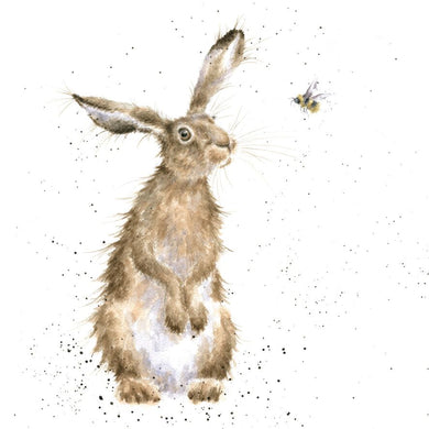 Wrendale Designs The Hare and The Bee Card