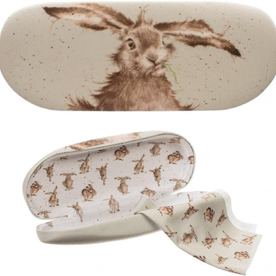 Wrendale Designs Hare Brained Glasses Case
