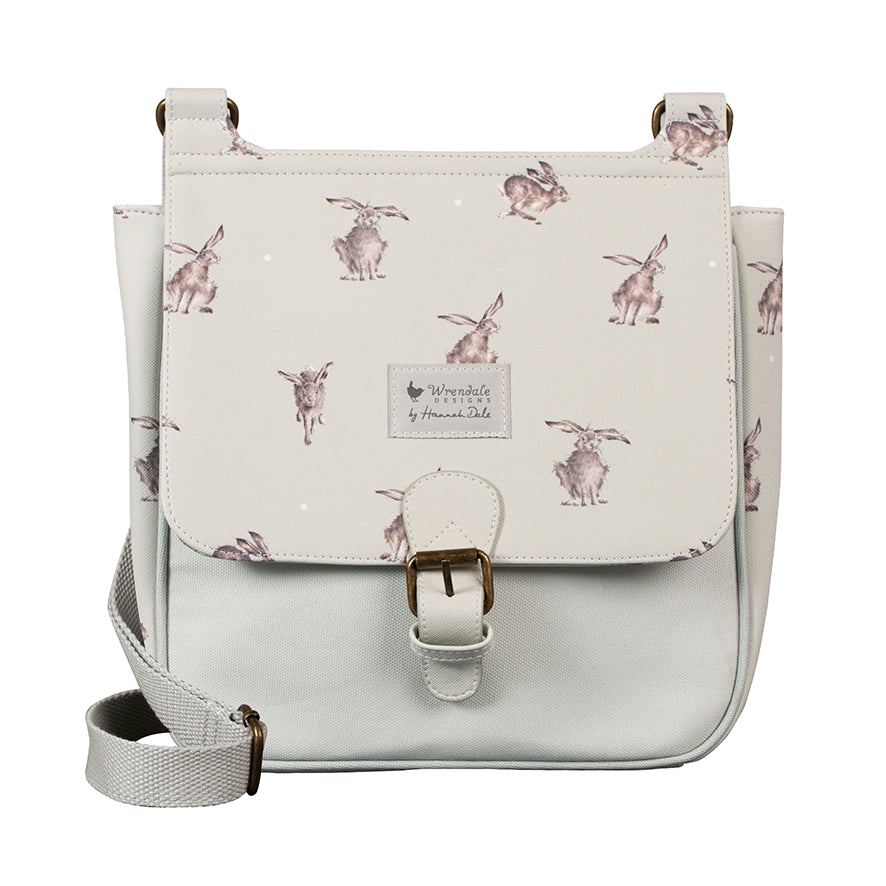 Wrendale Leaping Hare Vegan Satchel Bag