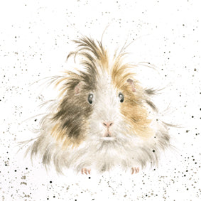 Wrendale Designs Style Queen Guinea Pig Card