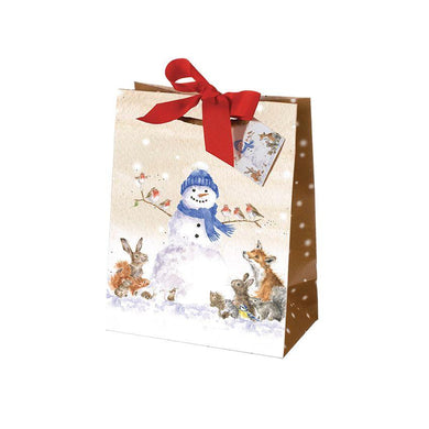 Wrendale Designs Christmas Gathered All Around Gift Bag