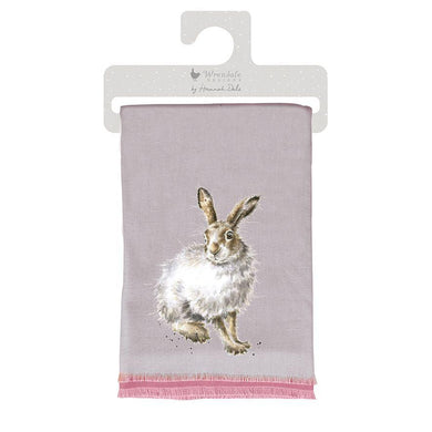 Wrendale Designs Luxury Winter Hare Scarf - Special price - Save £5