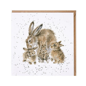 Wrendale Designs Furever & Always Bunny Rabbit Card