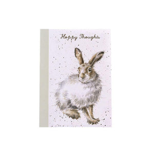 Wrendale Designs Happy thoughts Mountain Hare Notebook