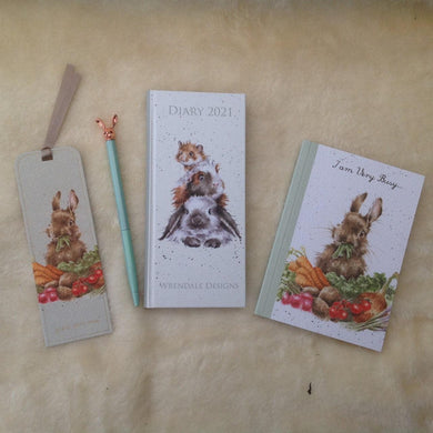 Wrendale Designs Diary & Stationery Gift Set