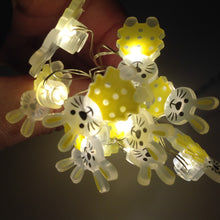 Mini Yellow Bunny Rabbit Shaped LED Lights