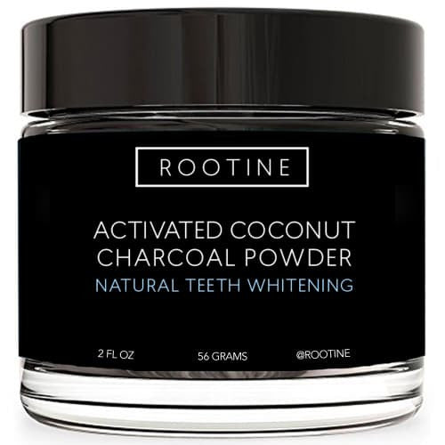 Activated Coconut Charcoal Powder - rootine