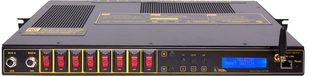DC Power Controller 8x15A