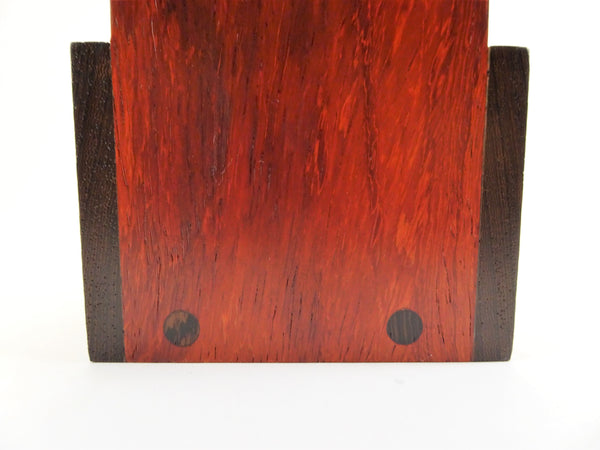 Wenge and Padauk Wine Holder